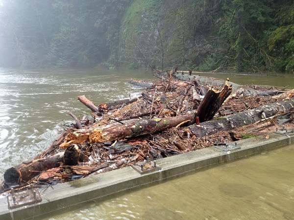 Seymour River Slide and Twin Bridges – UPDATE