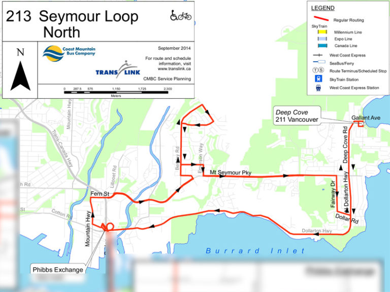 Bus transit review in the Mount Seymour area