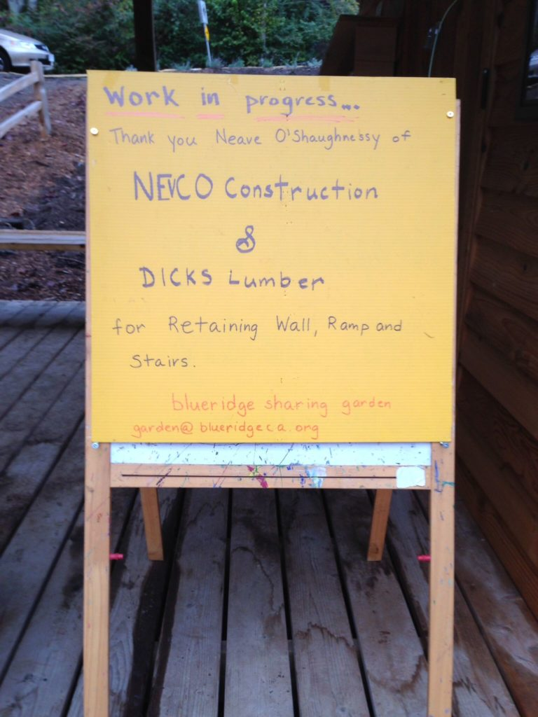 Thank you NEVCO Construction and Dick's Lumber