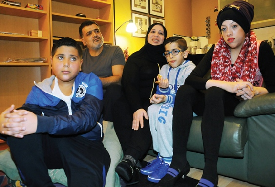 Syrian Family moving to Blueridge