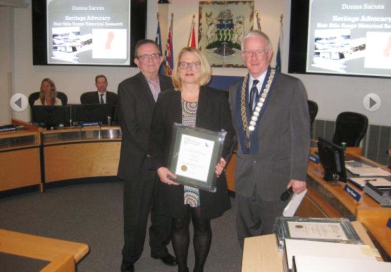 Blueridge Resident Wins DNV Heritage Advocacy Award