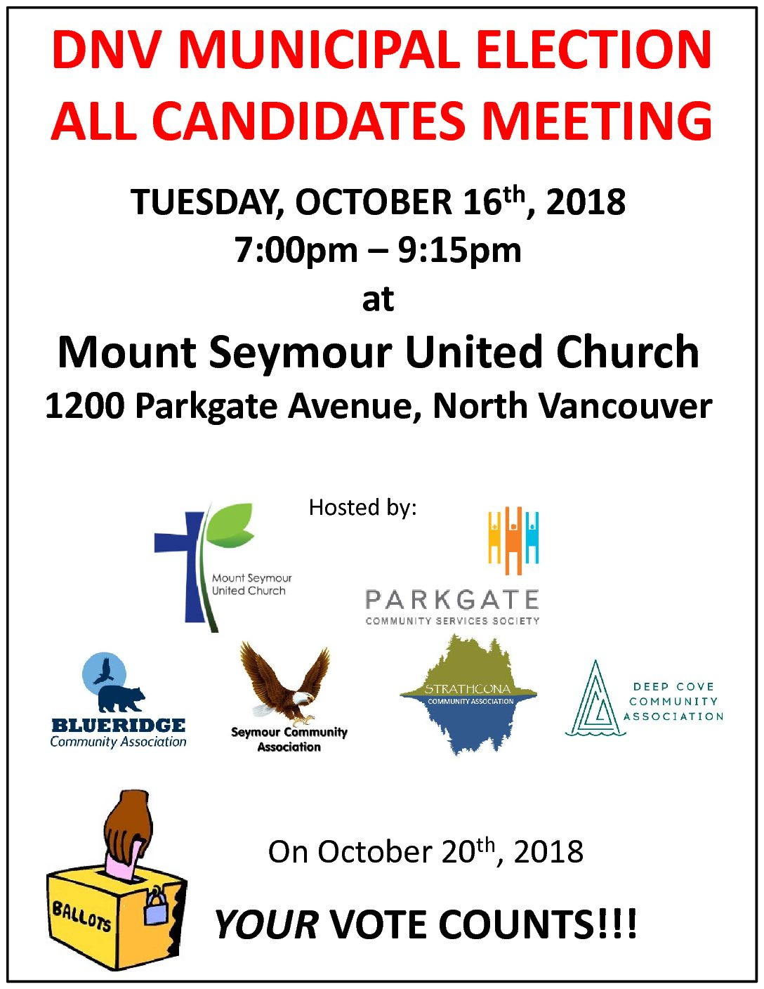 DNV Municipal Election All Candidates Meeting