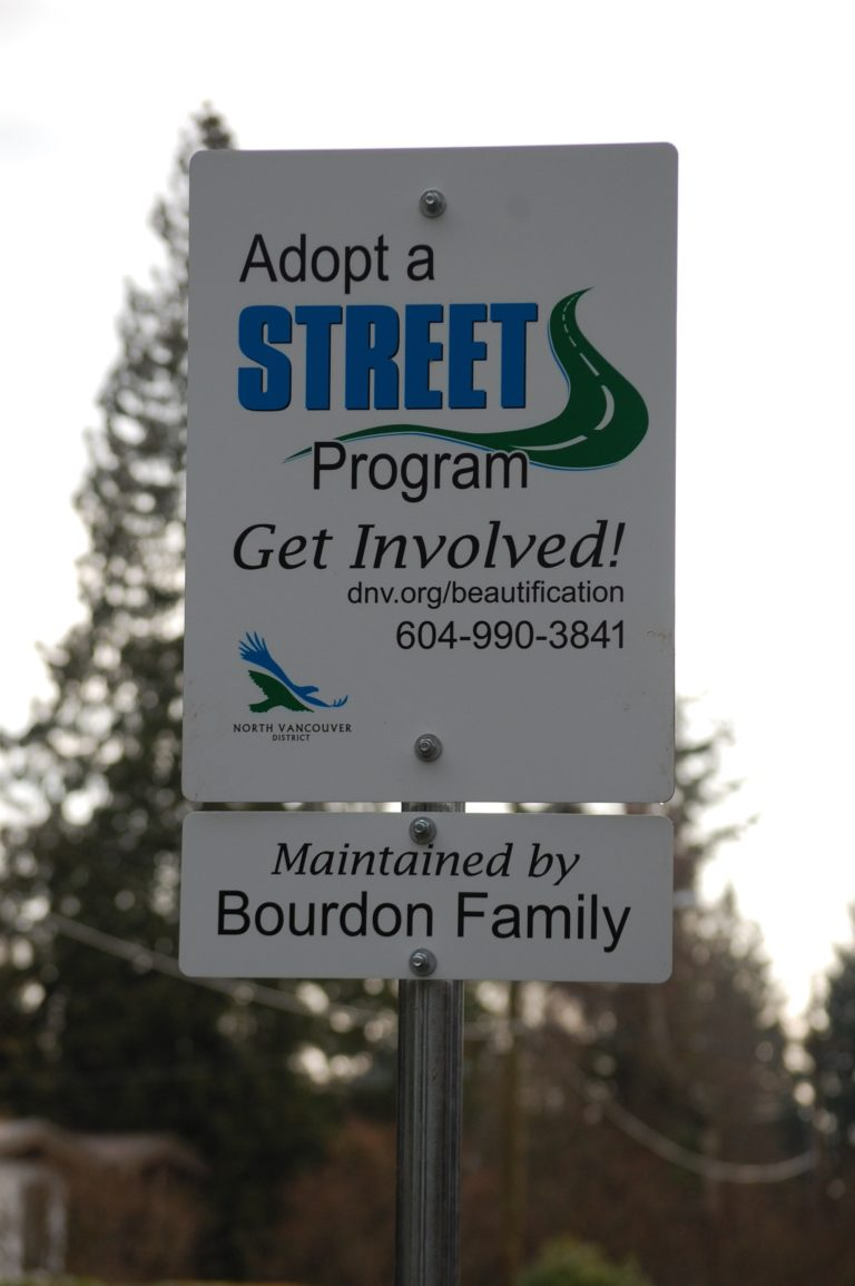 """""""Adopt a street"""" spotted in Blueridge!"""