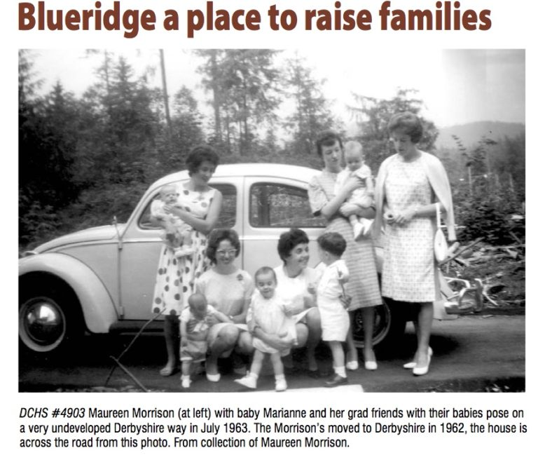 History of Blueridge Neighbourhood – Article in the DCHS July 2014 newsletter