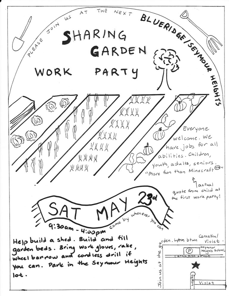 Sharing Garden Update – May 2015