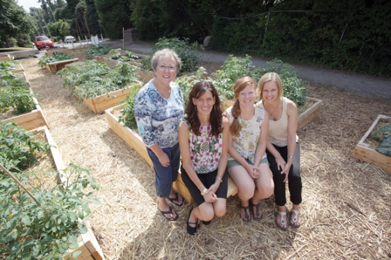 Blueridge Sharing Garden featured in the North Shore News
