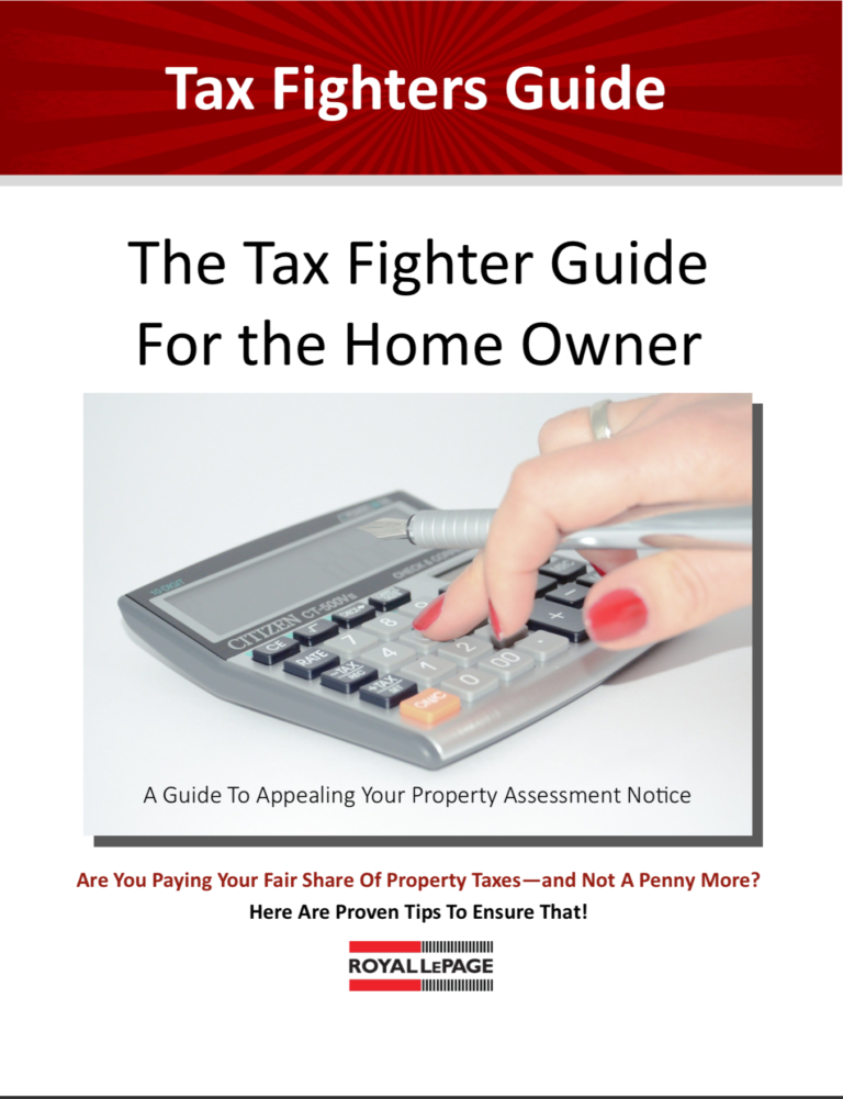 Take a Look at the Tax Fighter's Guide